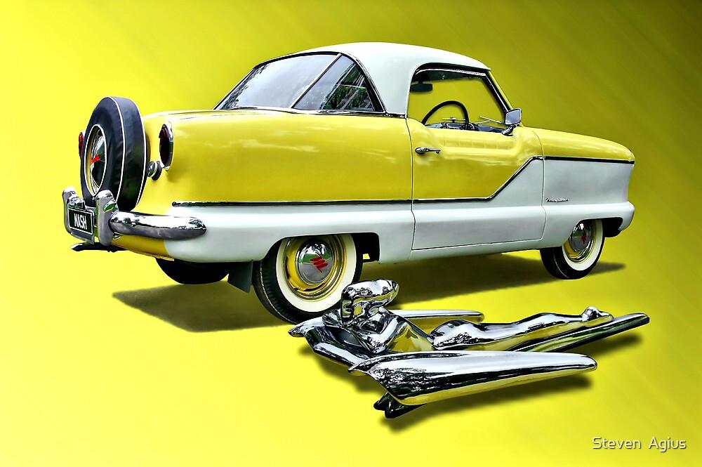 1957 Nash Metropolitan by Steven  Agius