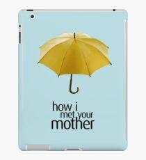 Yellow Umbrella. How I Met Your Mother. iPad Case/Skin