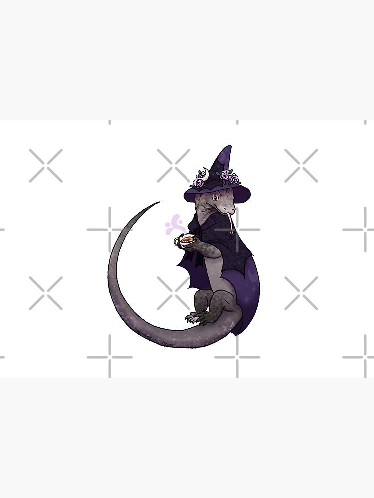Komodo Dragon Witch by petakov-kirk