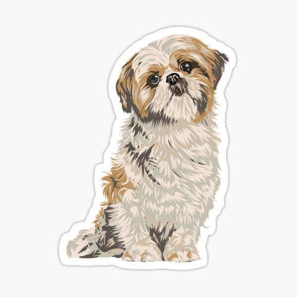 Shih-Tzu Sticker