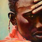 Dignity - African Maasai by Sher Nasser