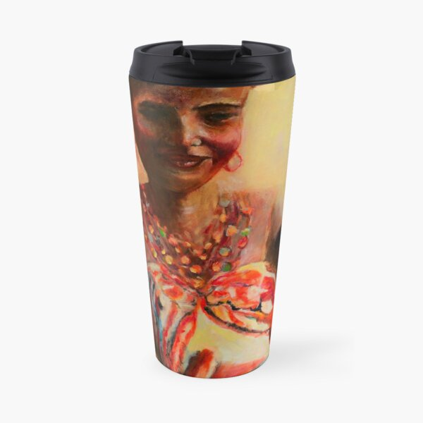 African Mother and Child Travel Mug