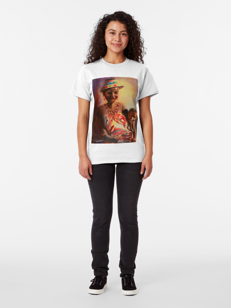 Alternate view of African Mother and Child Classic T-Shirt