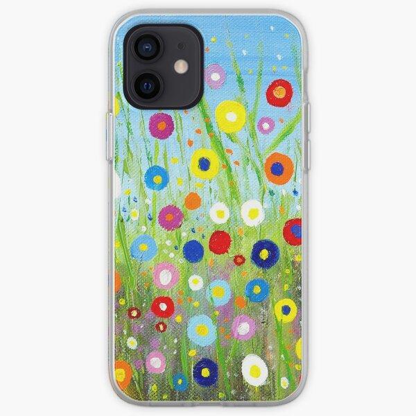 Happy Little Garden 2 iPhone Soft Case