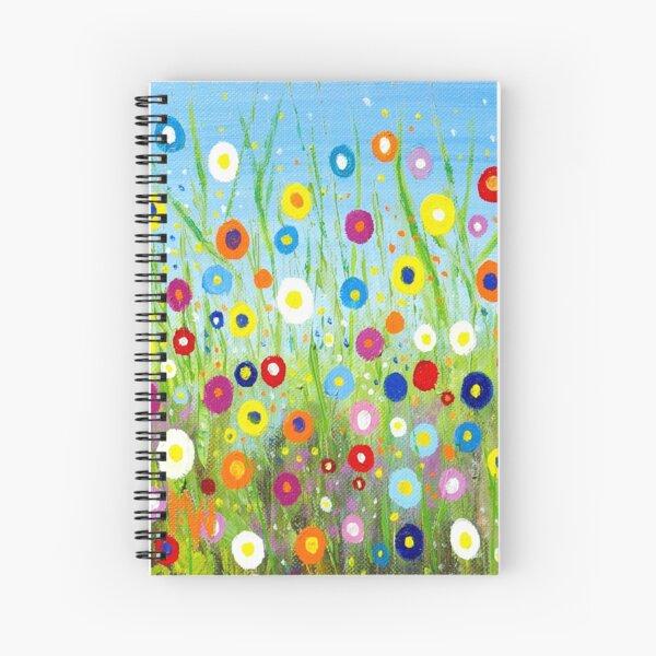 Happy Little Garden 2 Spiral Notebook
