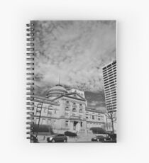 The County Courthouse Spiral Notebook