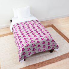 Playstation Logo Pink Comforter