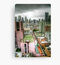 Looking Over Melbourne Canvas Print