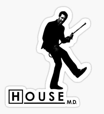 House Rockin' Sticker