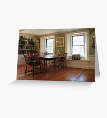Lothrop Room, Sturgis Library Greeting Card