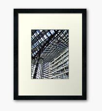 The Glass Ceiling Framed Print