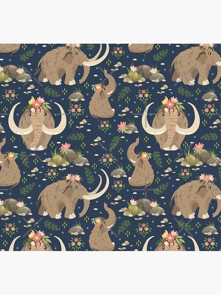 Cute mammoths by JuliaBadeeva