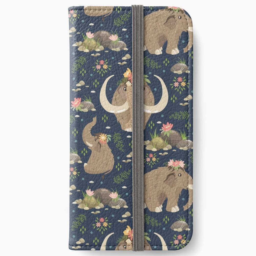Cute mammoths iPhone Wallet