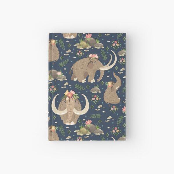 Cute mammoths Hardcover Journal
