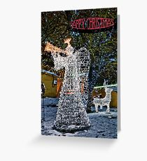 Happy Christmas Angel Greeting Card