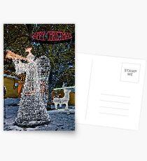 Happy Christmas Angel Postcards