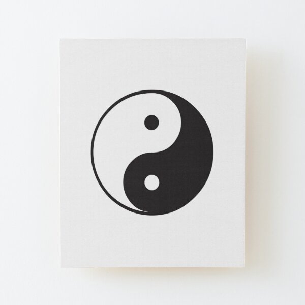 Chinese Ying YANG Shape Painting Wall Art Stencil