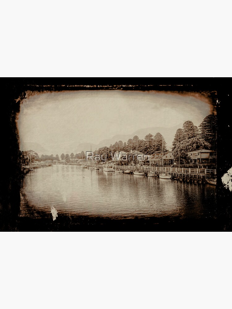 Port Fairy Sunrise (tin type vintage sepia) by RayW