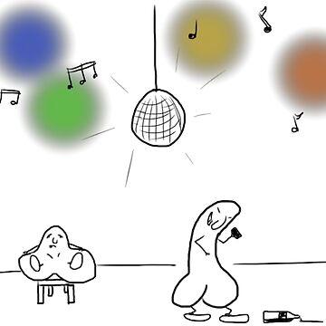 Lill-Pung och Häng-Pung på disco by NyheternaSE