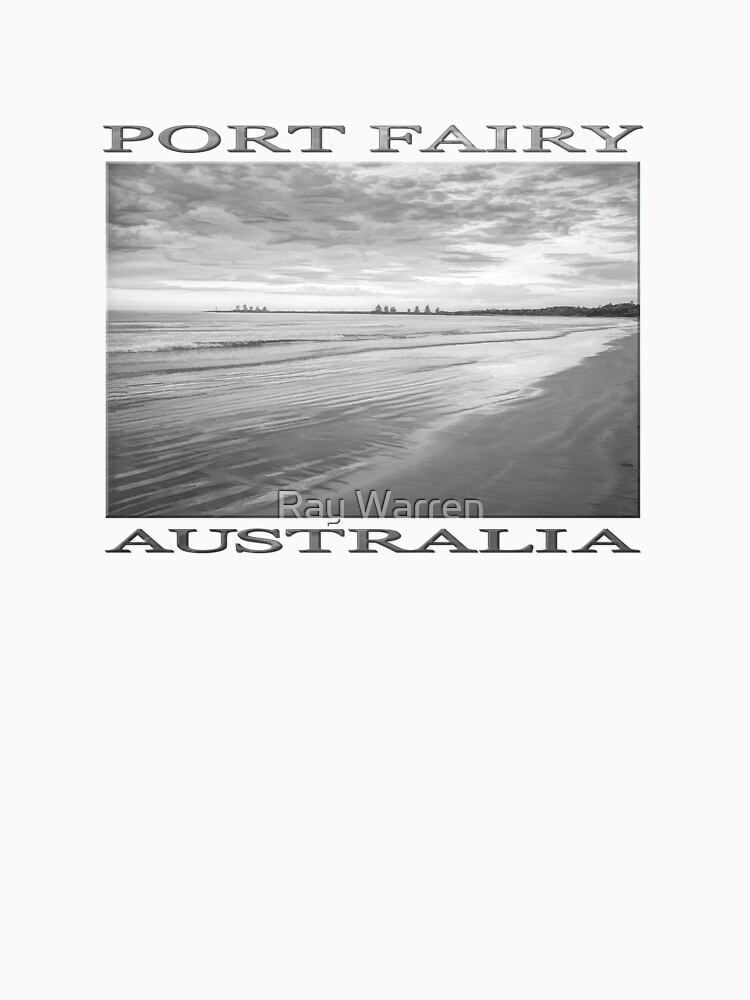 Sunrise at Port Fairy (b&w graphic sketch) by RayW