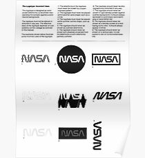 Nasa Graphics Standards Manual 1976 0002 The Logotype Incorrect Uses Poster