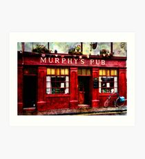 Murphy's Pub Dingle Art Print