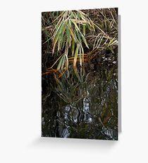 Dark Water no. 3 Greeting Card
