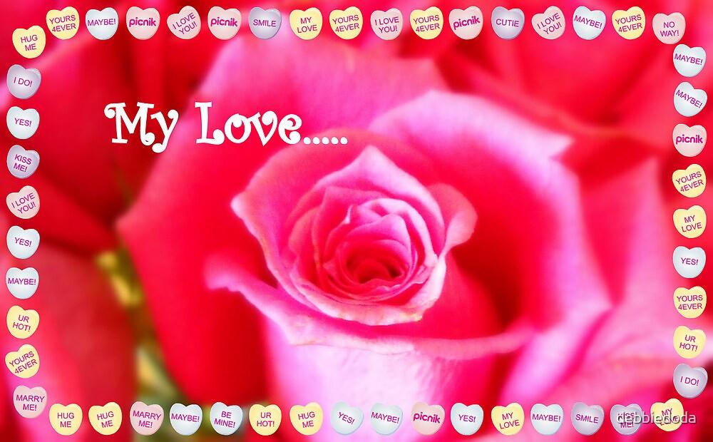 My Love by debbiedoda