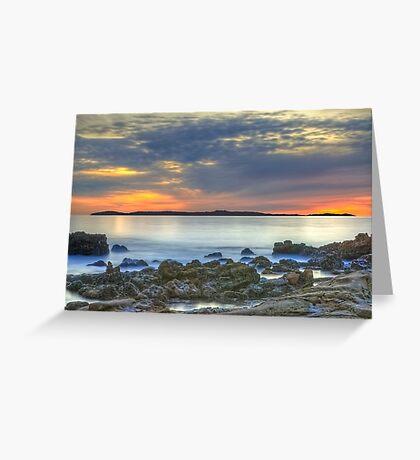Catalina Sunset (Catalina Island, California) Greeting Card