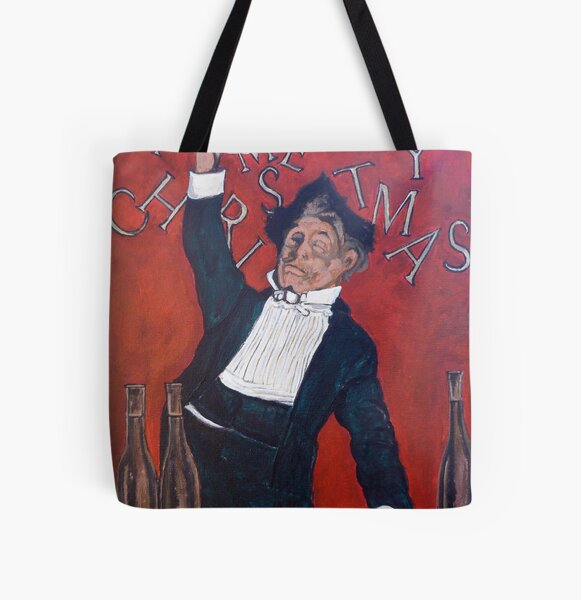 Cheers All Over Print Tote Bag