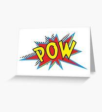 POW Greeting Card