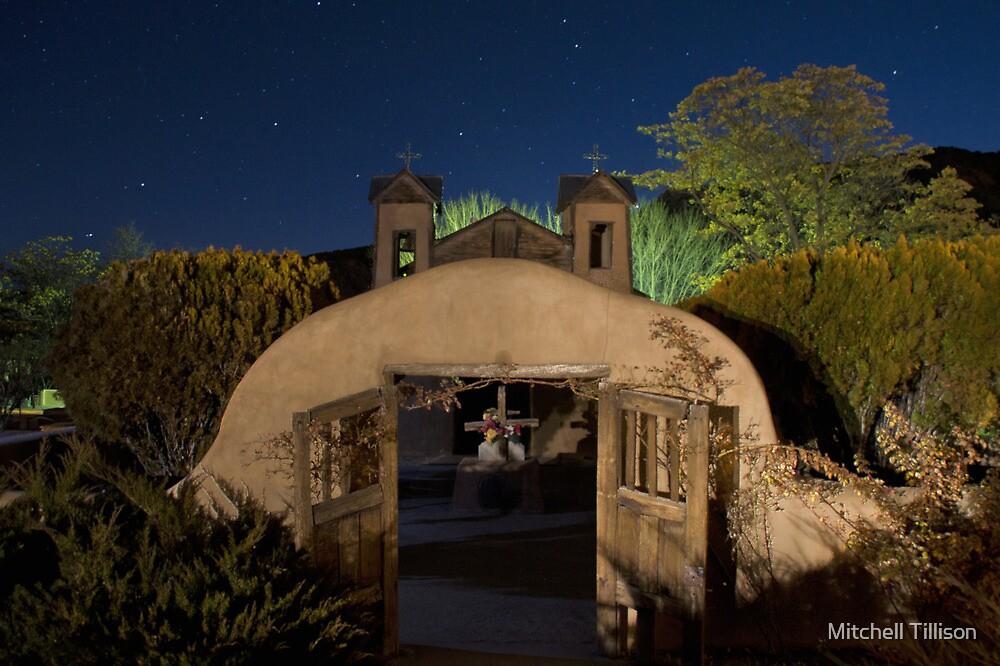 Heaven Above: Santuario de Chimayo by Mitchell Tillison