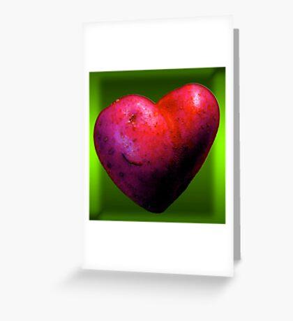 I LOVE Spuds! Greeting Card