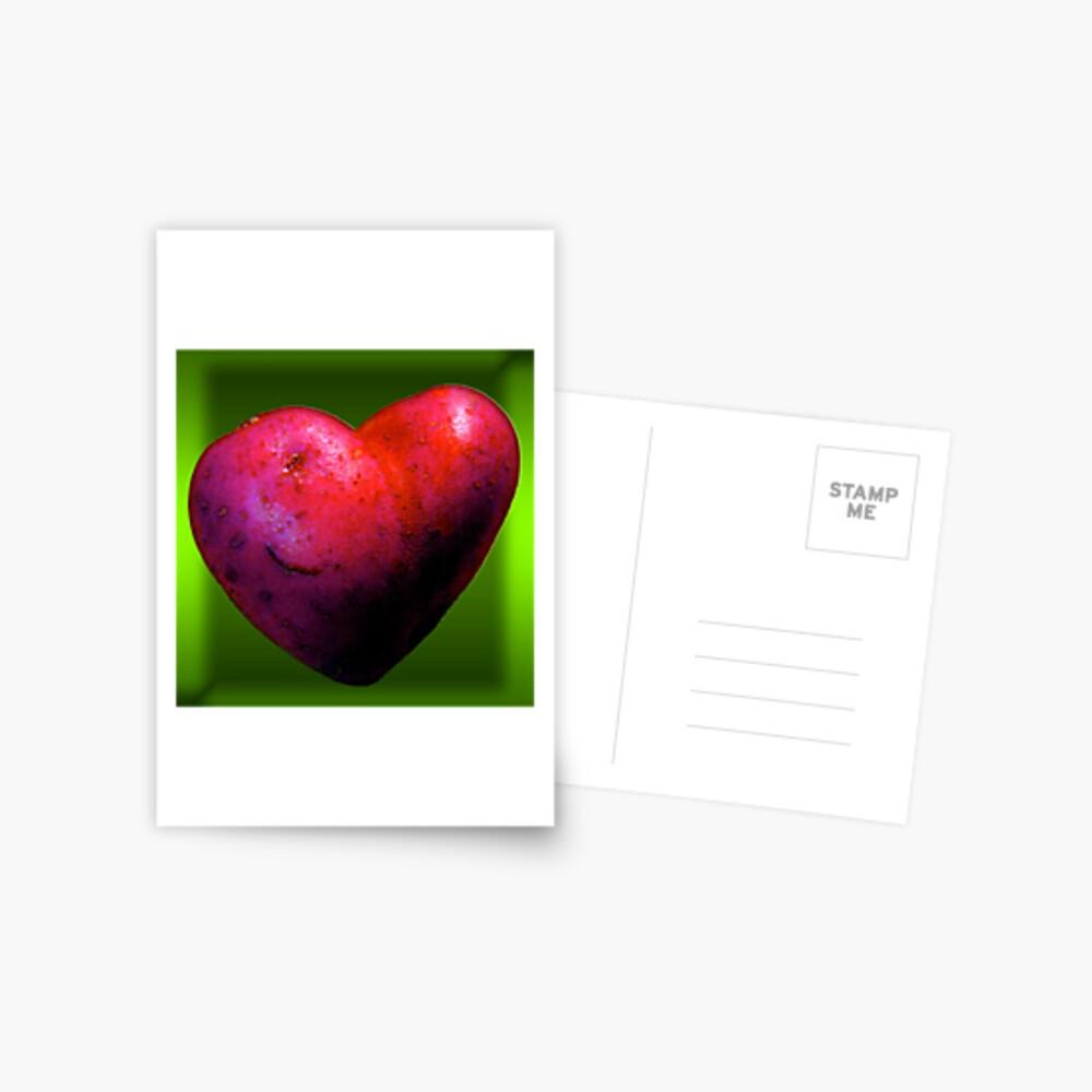I LOVE Spuds! Postcard