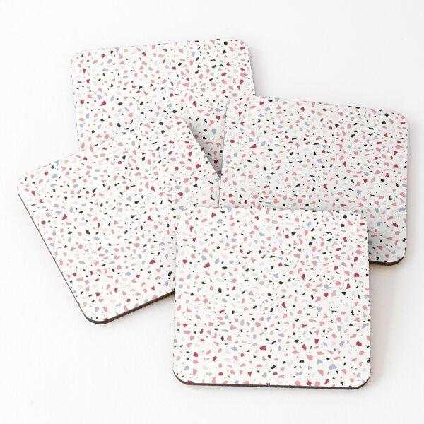 AFE Multi Color Terrazzo Coasters (Set of 4)
