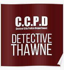 C.C.P.D Detective Thawne Poster