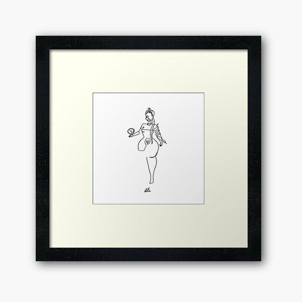 Goddess Ala Framed Art Print