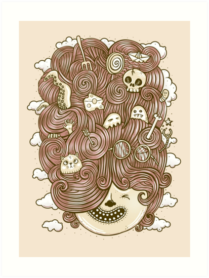 Crazy Hair Day by heavyhand