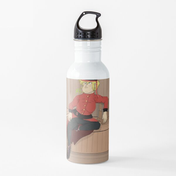Human Peridot as a Pirate Captain Water Bottle