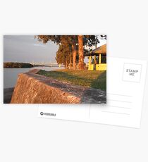 Sunset at the Boat Ramp Postcards