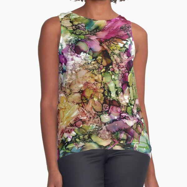 Go with the flow Sleeveless Top