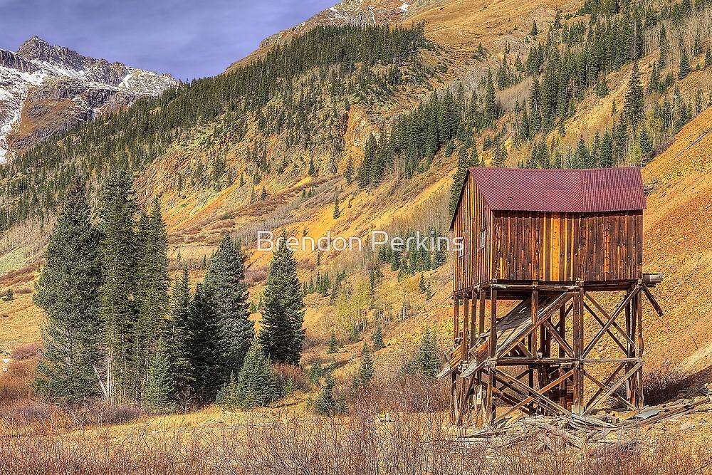 Abandoned Gold Mine (Silverton, Colorado) by Brendon Perkins