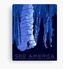 see america aliens parody Canvas Print