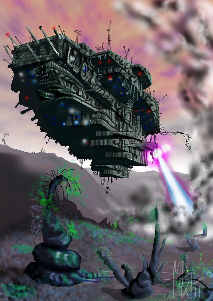 Star Ship Vandals by Matt Bissett-Johnson