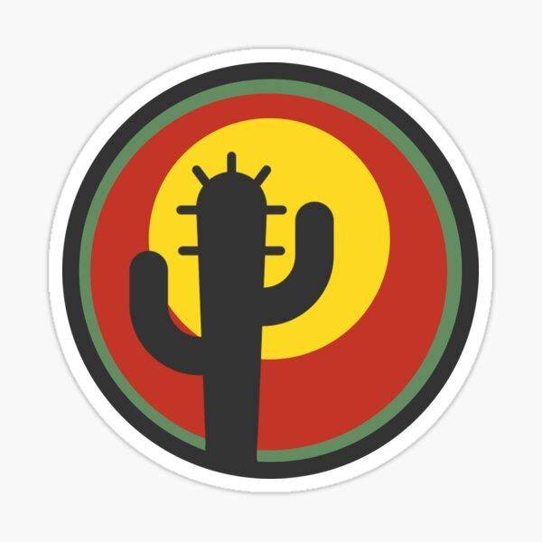 The Desert Awaits Sticker