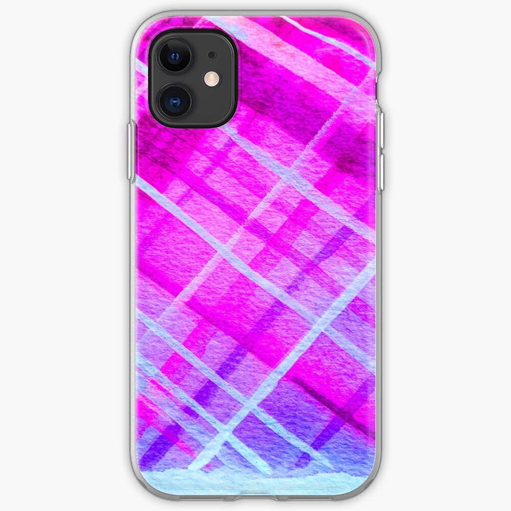 Vibrant Purps iPhone Soft Case
