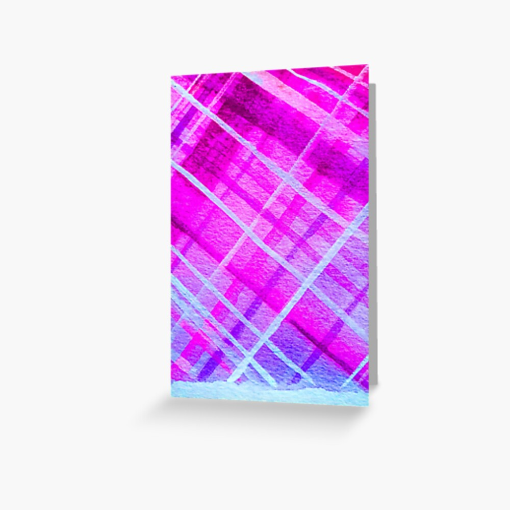 Vibrant Purps Greeting Card