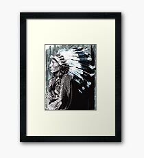 Native American Chief 2 Framed Print