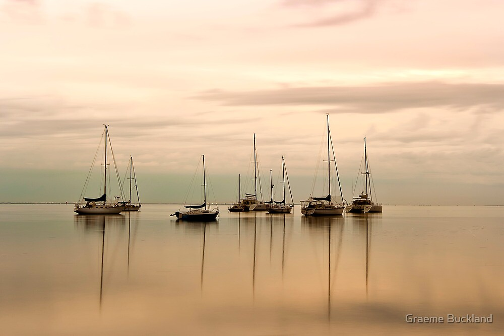 Resting - Eastern Beach Geelong Victoria by Graeme Buckland