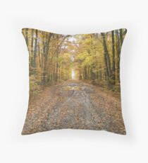 Hiawatha Forest Throw Pillow